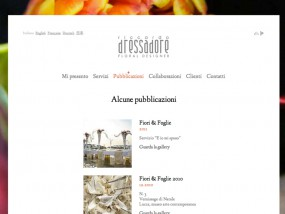 Show more info about RICCARDO DRESSADORE a web site designed in Italy by the web agency PANGOO Design of Milan