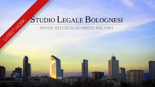 Show more info about STUDIO BOLOGNESI LAW FIRM a web site designed in Italy by the web agency PANGOO Design of Milan